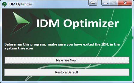Run-idm-optimizer
