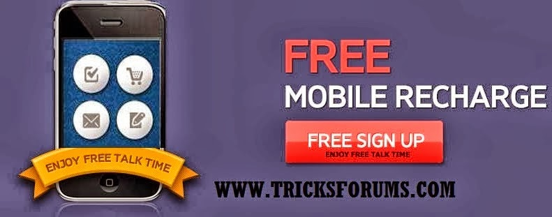 get free mobile recharge