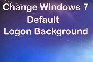 change windows7 logon image