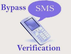 Bypass-sms-verification