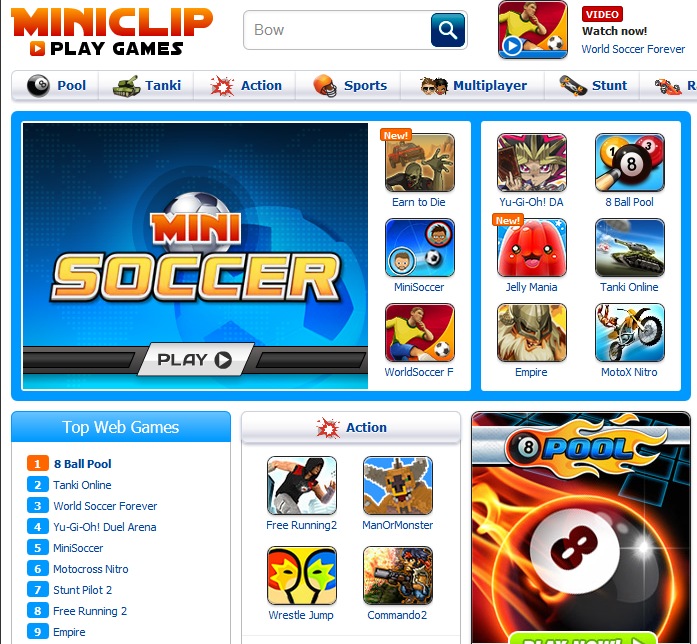 Top 10 Best Sites to Play Games Online Free without ...