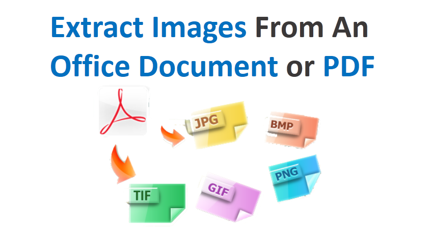 Extract Images From An Office Document or PDF