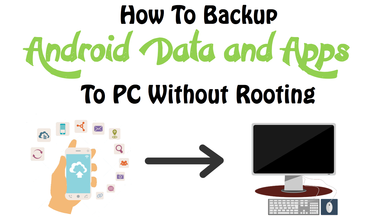 how to backup android data and apps to pc without rooting