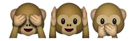 monkeys emoji