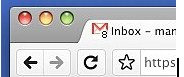 unread mails in tab