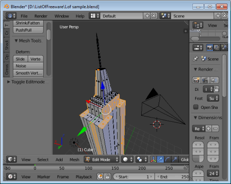 10 Best Free 3d Modeling Software 2016 To Create Stunning