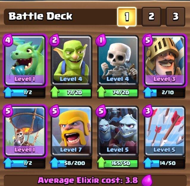 best battle deck