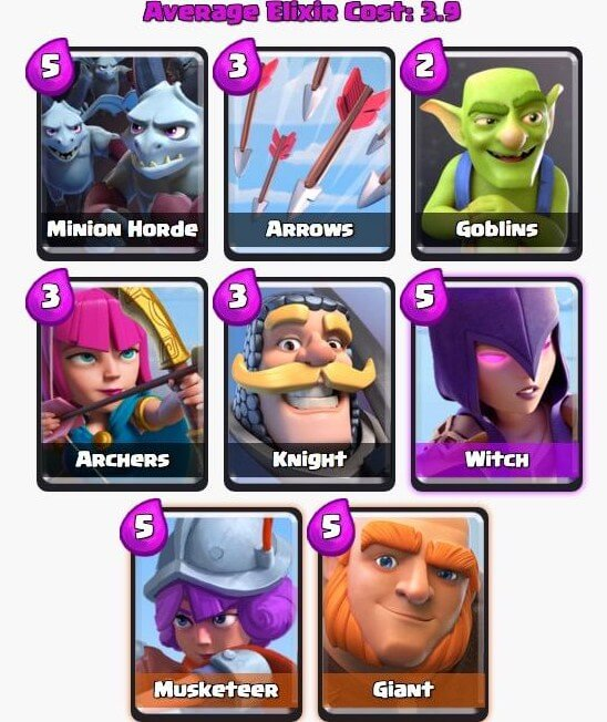 best deck for clash royale
