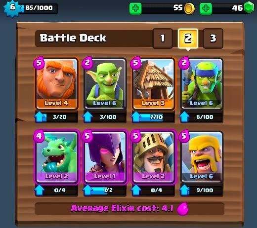 clash royale best deck