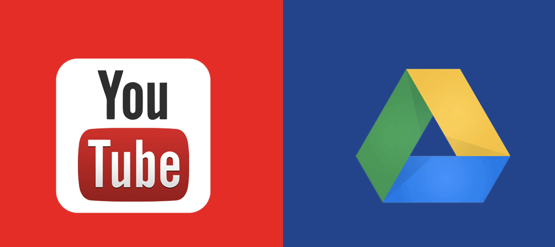 save youtube video in google drive