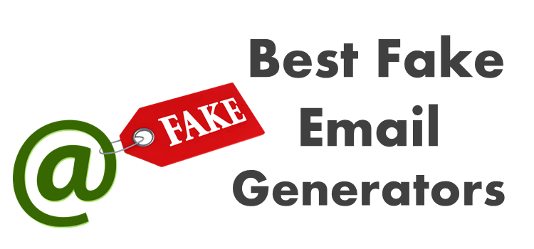 Fake Email Generators