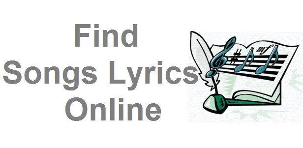Find Song Lyrics Online