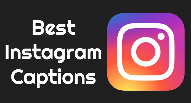 Top Best Good, Funny, Cute, Cool Instagram Captions