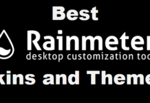 Top Best RainMeter Skins and Themes For Windows