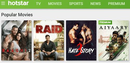 Hotstar Movies