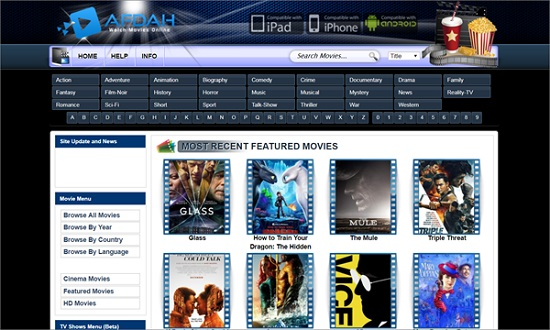 Afdah Movie Streaming Sites
