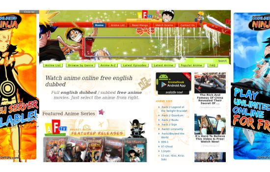 AnimeFreak Anime Streaming Sites