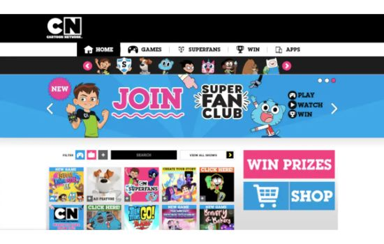 Cartoon Network Anime Streaming Sites