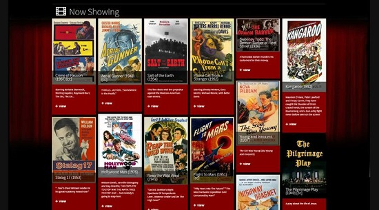 Classic Cinema Online Movie Streaming Sites