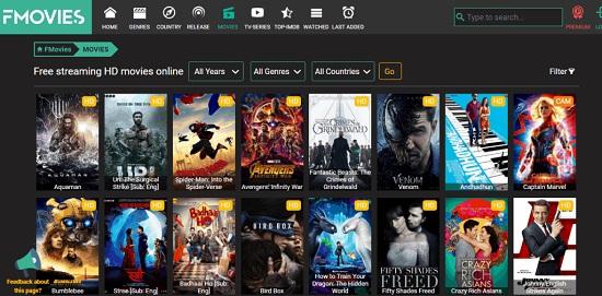 FMovies Movie Streaming Sites