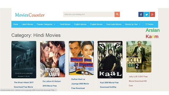 Movies Counter Movie Download Sites