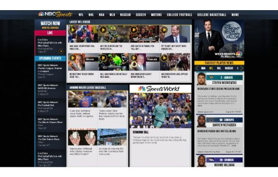 NBC Sports Streaming Sites