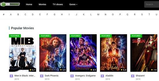 Putlockers Movie Streaming Sites