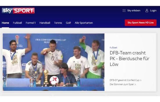 Sky Sports Sports Streaming Sites
