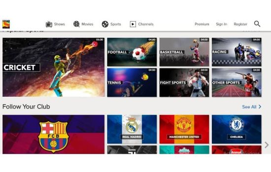 Sony LIV Sports Streaming Sites