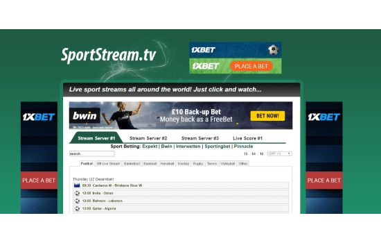 SportStream Sports Streaming Sites