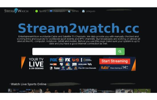 Stream2Watch Sports Streaming Sites