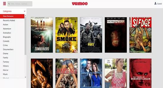 Vumoo Movie Streaming Sites