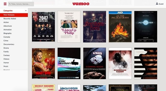Vumoo TV Streaming Sites