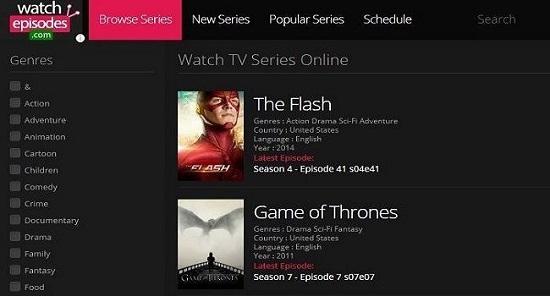 Watchepisodes4 TV Streaming Sites
