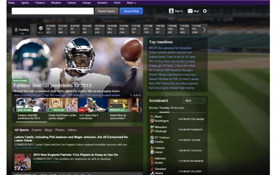 Yahoo Sports Streaming Sites
