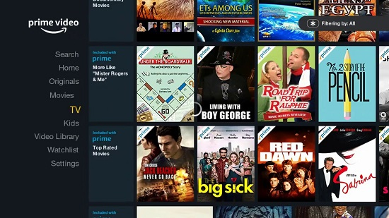 Amazon Prime Movie Streaming Sites