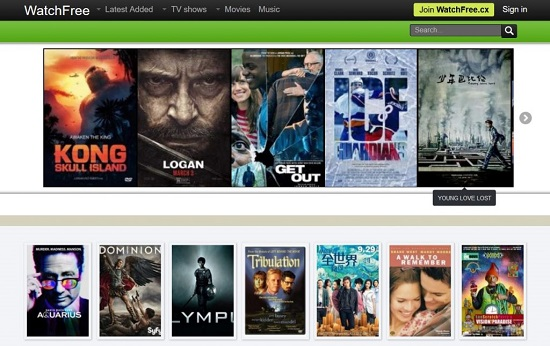 WatchFree Movie Streaming Sites